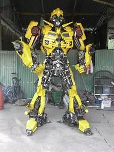 Anchalee Saengtai Makes Real Transformer Scultpures ...