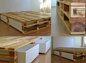 The 25+ best Pallet bed frames ideas on Pinterest Pallet
