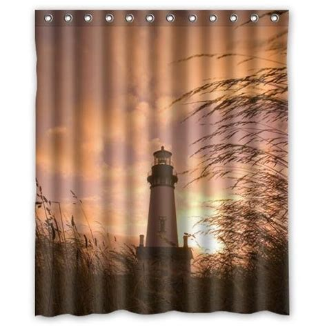 lighthouse shower curtain lighthouse shower curtains shower curtains outlet