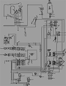Awd Wiring Diagram - Motor Grader Komatsu Gd670a  Aw-2b  C