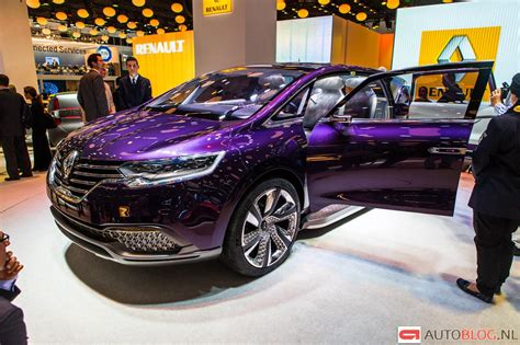 renault paris renault initiale paris concept een paarse droom op wielen