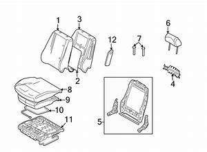 Ford Fusion Seat Heater Pad  Fold  Flat  Front