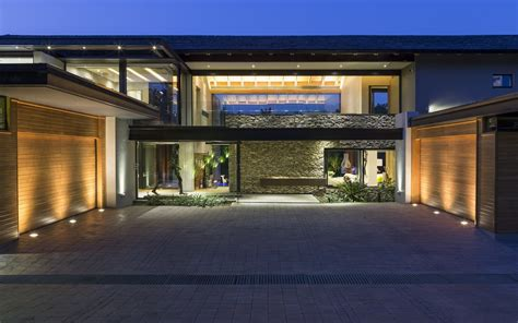 house contemporary house in blair athol south africa Modern