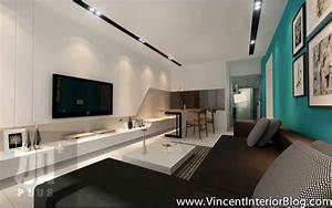Tv feature wall archives vincent interior