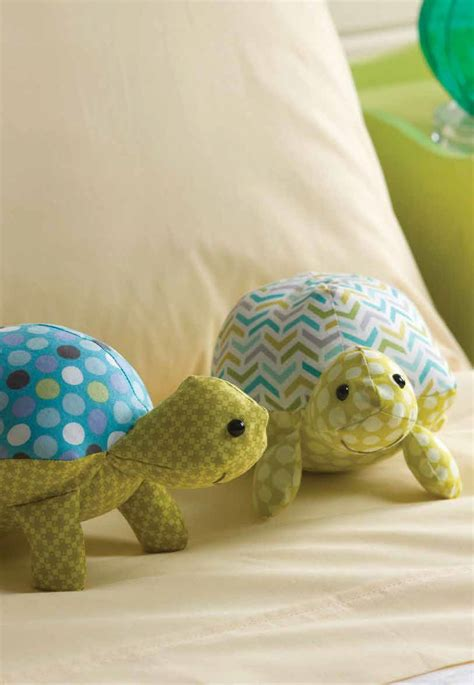 Happy Stuffed Turtles Sewing Pattern Download