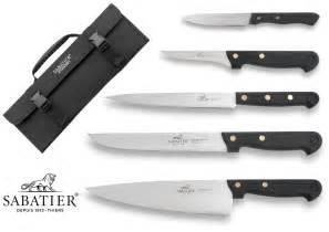 couteau cuisine sabatier malette 5 couteaux français sabatier cuisine d 39 aujourd 39 hui