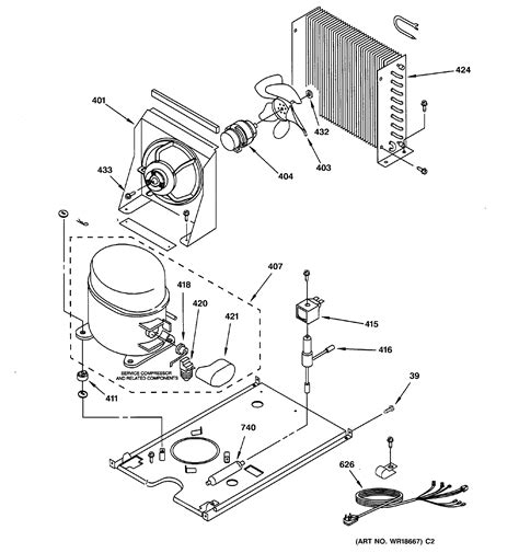ge zdiscssj freestanding ice maker parts sears partsdirect
