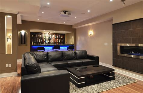 great finished basement design ideas for modern house 21 stunning modern basement designs modern basement