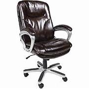 Office Chairs Staples Ca by Serta Executive Big Tall Office Chair Puresoft Faux Leather Roasted Ch