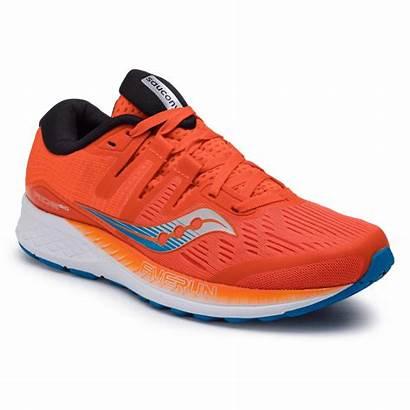Saucony Iso Ride Running Orange Zapatillas Naranja
