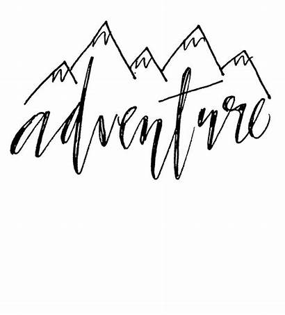 Calligraphy Quotes Word Sayings Caligraphy Lettering Adventure
