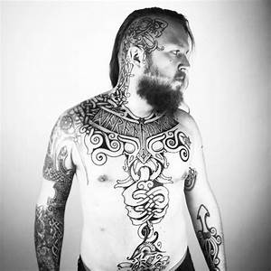 Epic Viking Sean Parry  Most Of His Tattoos Are Selfmade