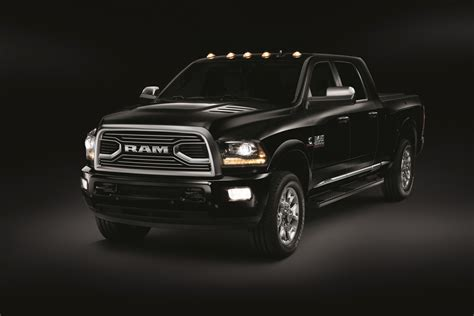 Ram Introduces The Ultraluxurious 2018 Ram Limited