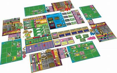 Board Dinosaur Island Card Dino Boardgame Games
