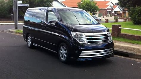 Nissan Elgrand Picture by 2006 Nissan Elgrand E51 Pictures Information And