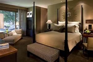 la meilleur decoration de la chambre couleur taupe With salon de jardin confortable et zen 17 deco chambre a coucher cosy