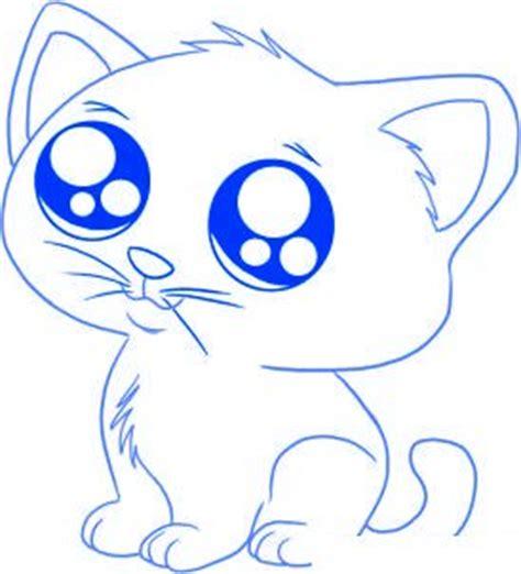comment dessiner un chat assis dessin chat facile