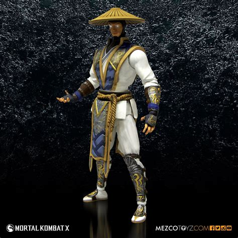 Mortal Kombat X Raiden 6 Figure Mezco Toyz