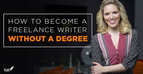 How To Become A Freelance Writer Without A Degree  Freelance Writing Riches