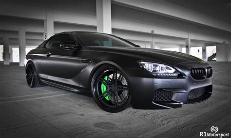 Bmw M6 Convertible Is Stunning In Satin Black