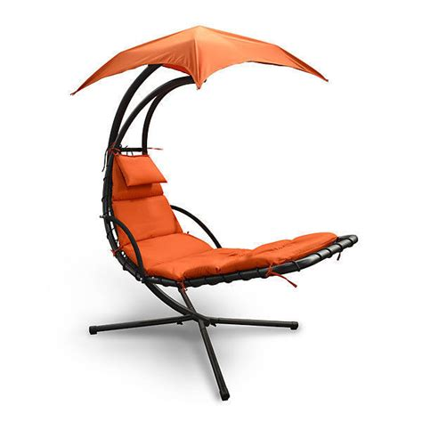 chaise h et h sky lounger hanging chaise chair hammock with umbrella