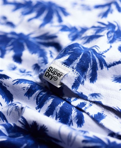 Palm Tiki by Mens Palm Tiki T Shirt In Optic Marl Superdry