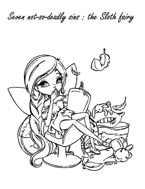 The Sloth Fairy by *JadeDragonne on deviantART | Jade