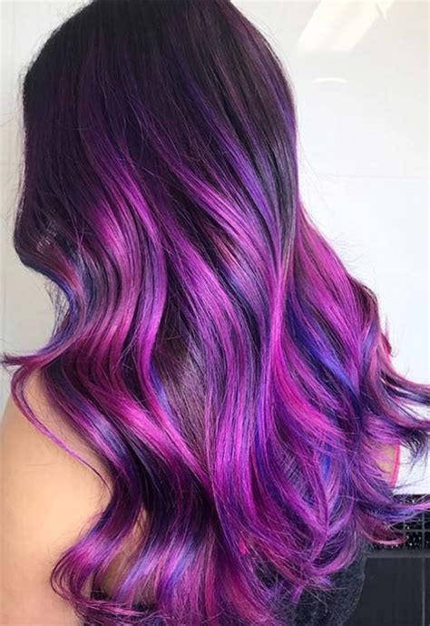 Which Hair Color Is The Best by 63 Purple Hair Color Ideas To Swoon Violet Purple