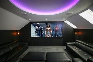 Loft Conversion Home Cinema Room  Benfleet