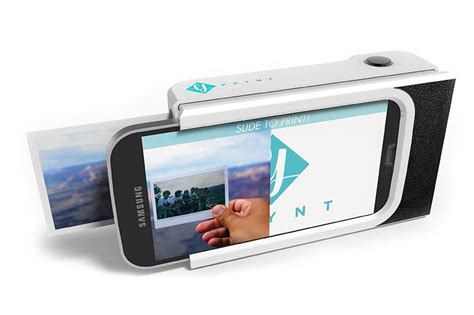 polaroid cell phone prynt turns your smartphone into a polaroid