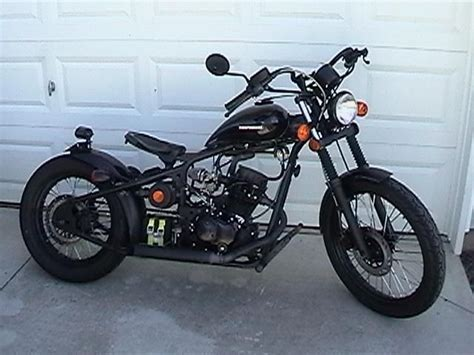 Df250rtb Bobber Rigid Hard Tail Hardtail 250cc For Sale On