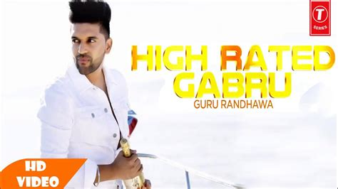 High Rated Gabru Official Song
