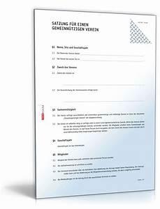 Rechnung Gemeinnütziger Verein Muster : detaillierte satzung gemeinn tziger verein muster downloaden ~ Themetempest.com Abrechnung