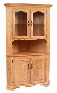 Classic, Design, 2, Door, Corner, Hutch