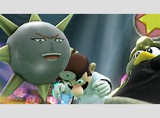 Dio Brando's face on Gordos Super Smash Bros for Wii U