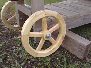 Wood Work Wooden Wheel Plans - Easy DIY Woodworking