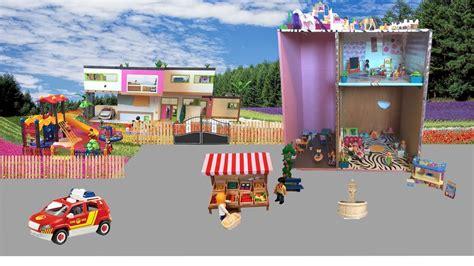 Ma Ville Playmobil  Square, Coiffeur, Magasin, Docteur