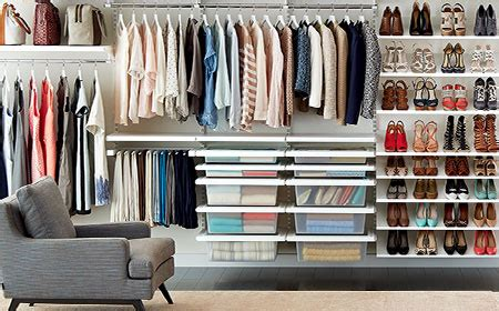 elfa custom closet shelving system the container store