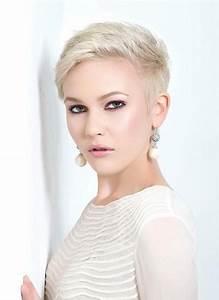 Coupes Courtes Femme 2017 : coiffure tres courte femme 50 ans ~ Melissatoandfro.com Idées de Décoration