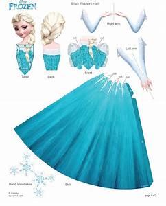 Elsa Papercraft Frozen Photo (35801187) Fanpop