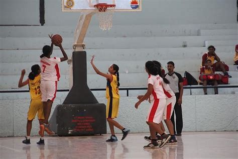 Junior National Basketball Championship: Tamil Nadu girls ...