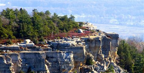 Hudson Park Bedding by Shawangunk Mountains In Eastern New York The Nature