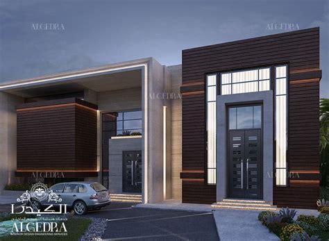 modern villa design  jeddah algedra design archinect