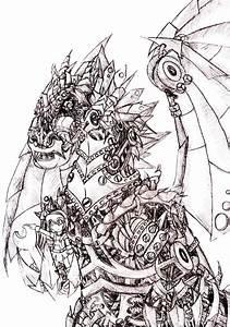 robot dragon by narni on DeviantArt