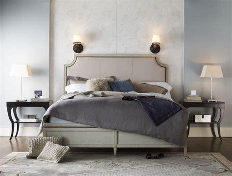 milling road delphine king bed baker furniture