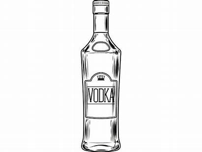 Alcohol Clipart Bar Vodka Bottle Liquor Drink