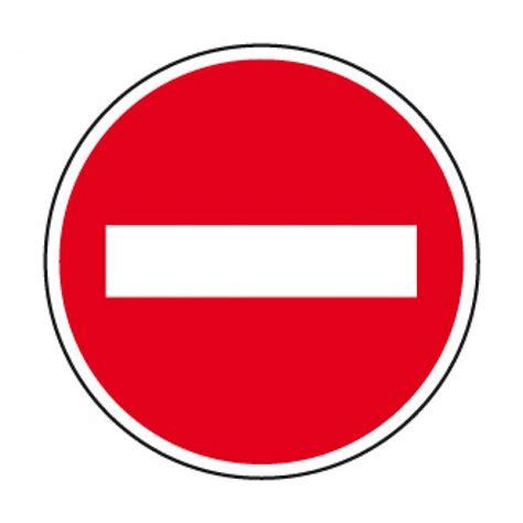 sticker bureau cr29 panneau sens interdit panneau interdiction