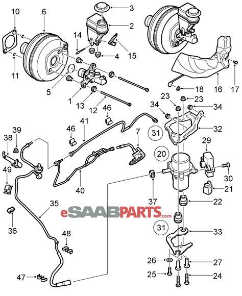 Saab Vacuum Pump Parts From