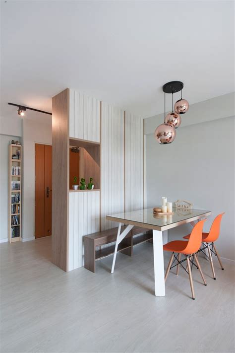 anchorvale modern hdb interior design dining area