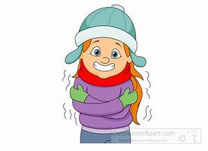 Chilling clipart feeling cold - Pencil and in color ...